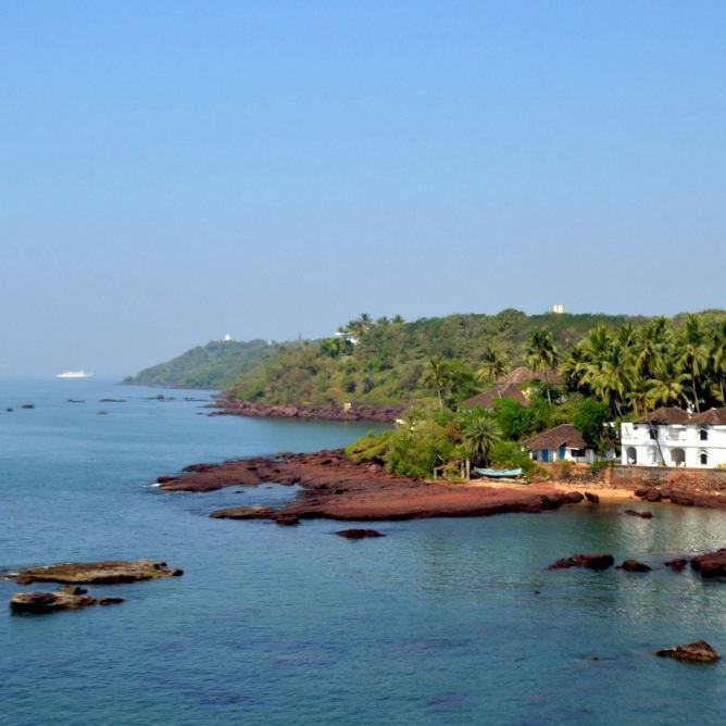 View from Dona Paula, Goa, India