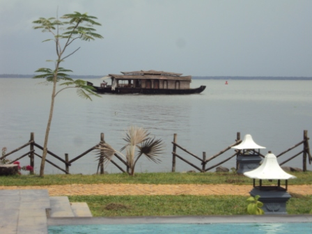 Vembanad Lake, Alleppey, Kerala, India